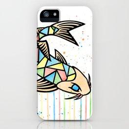 Watercolor Koi Fish iPhone Case