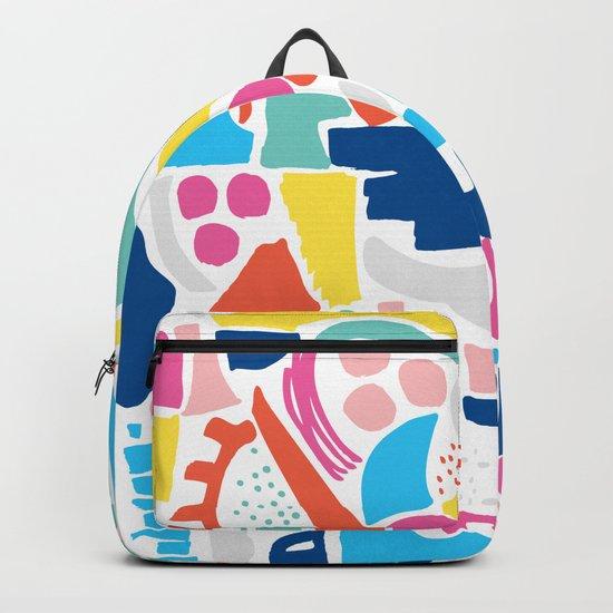 Colour Scatter Backpack