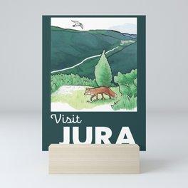 Visit Jura Vintage Travel Mini Art Print