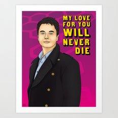 Captain Jack - My Love For You Will Never Die Art Print