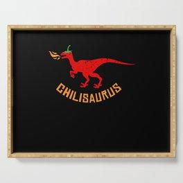 Chilisaurus Chili Dino Serving Tray