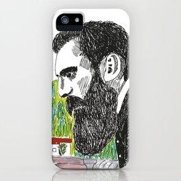 Theodor Herzl - Basel iPhone Case