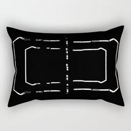 Welcome mat deployed III Rectangular Pillow