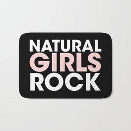 Natural Girls Rock Bath Mat