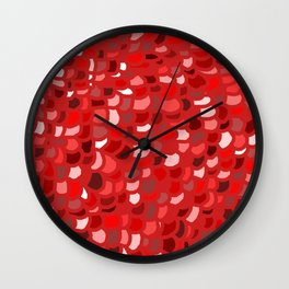 Red Wine Date Wall Clock