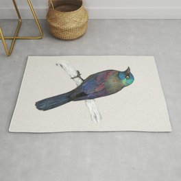 Common Grackle Rug