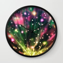 Brilliant Fireworks Wall Clock
