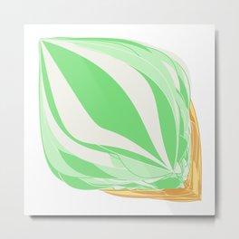 Mint Icecream Metal Print