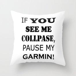 garmin Throw Pillow