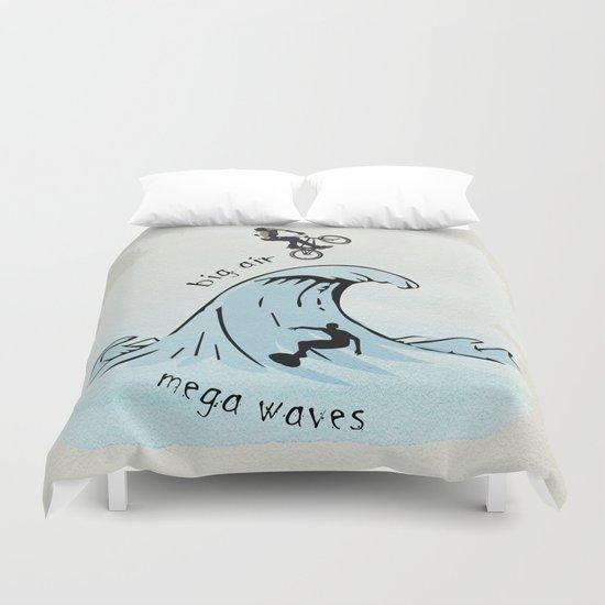 big air, mega waves Duvet Cover