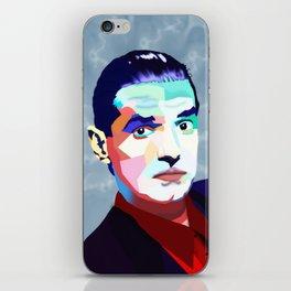 Portrait of Hans Holzel (Falco) iPhone Skin
