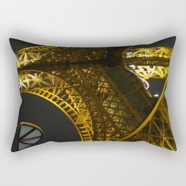 Eiffel Tower Arch - Paris, France Rectangular Pillow