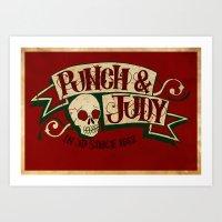 Punch & Judy Art Print