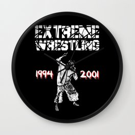 Extreme Wrestling Wall Clock