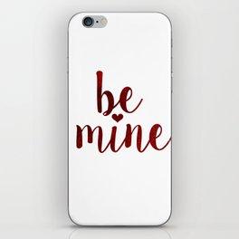 be mine   red velvet iPhone Skin