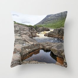 Glen Etive II Throw Pillow