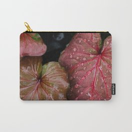 Vivid leaves of rainforest Carry-All Pouch