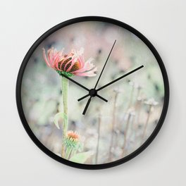 Hanging on to Summer Wall Clock