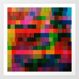 videotape (bear2_hex) Art Print