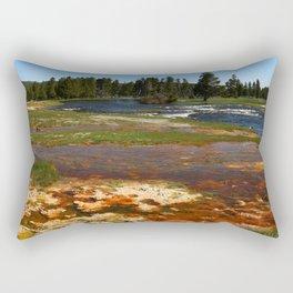 Firehole River Colors Rectangular Pillow