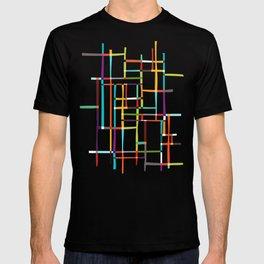 The map (after Mondrian) T-shirt