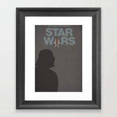 Star Wars 1977 Framed Art Print