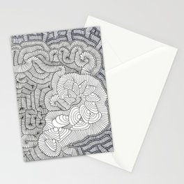 WHERE IT STOPS NO BODY KNOWS! Stationery Cards
