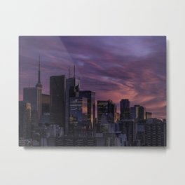 Summer in the 6ix Metal Print