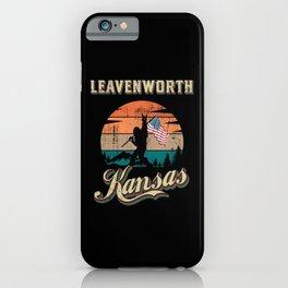 Leavenworth Kansas iPhone Case