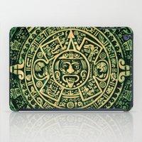 calendar iPad Cases featuring Mayan Calendar 2012 by Bob Pestana
