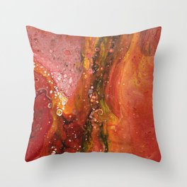 Fluid - Arterial Throw Pillow