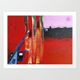 Song of Her Sinking  Art Print