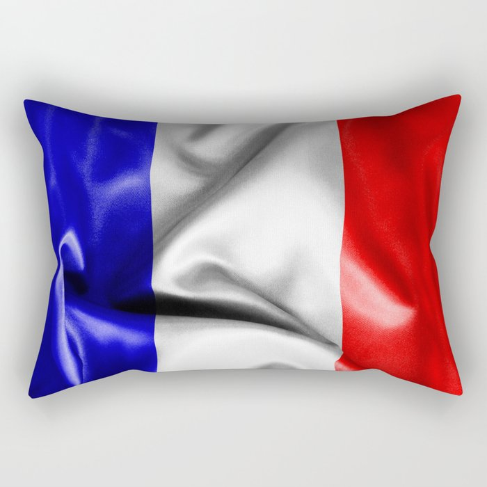 France Flag Rectangular Pillow