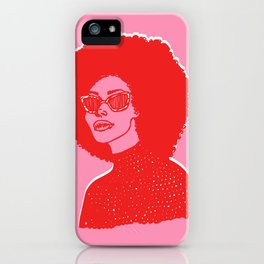 Kara Pink iPhone Case