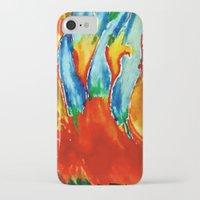 gemini iPhone & iPod Cases featuring Gemini by SteeleCat