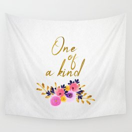 One of a kind - Flower Collection Wall Tapestry