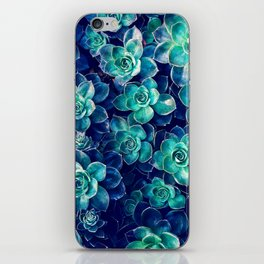 Plants of Blue And Green iPhone Skin