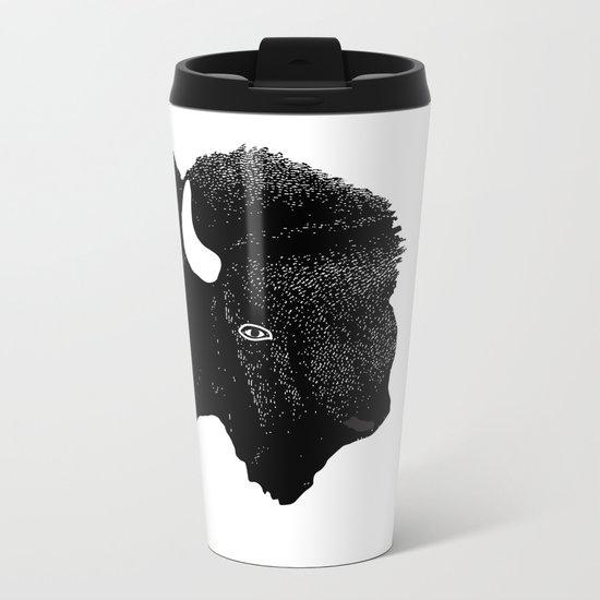 THE KING OF PRAIRIE Metal Travel Mug