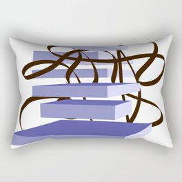 time goes Rectangular Pillow