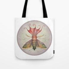 Squid Moth Tote Bag