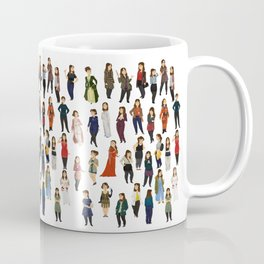 Every Clara Outfit Ever | S8 Coffee Mug