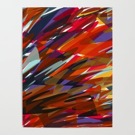 Colorful Chaos Poster