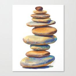 The Stone Mind Canvas Print