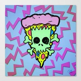 Bootleg Bart Canvas Print