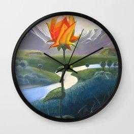 Flower Lovers Wall Clock