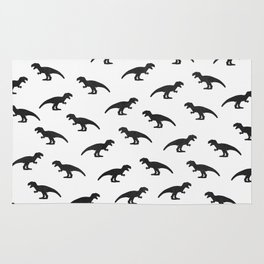 T-Rex Pattern Rug