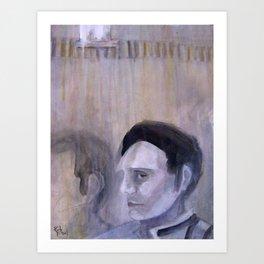 Gray Man Art Print