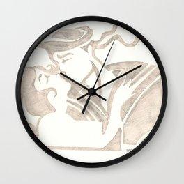 KissKiss Wall Clock