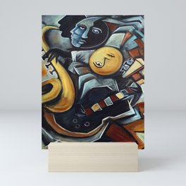 Indigo Blues Mini Art Print