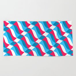 Geofluro #1 Beach Towel